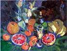 Still-life with grapefruits