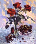 Isabella (the Still-life with red roses)