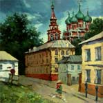 Lane at Tretyakov gallery