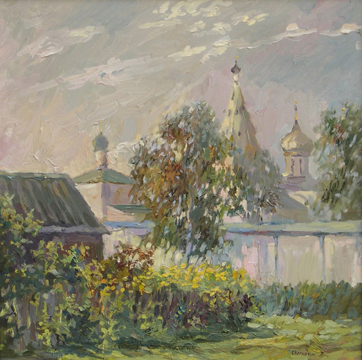 Series: Russian Province - Morning in Pereyaslavl